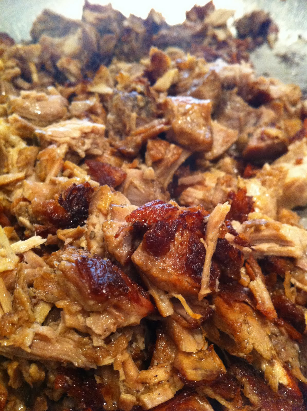 Crispy carnitas ready to fill your taco!