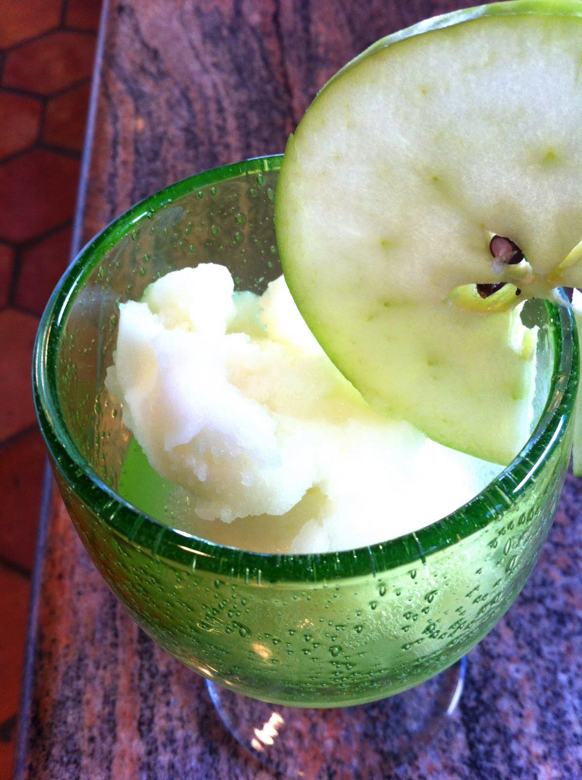 Green Apple Sorbet Recipe — Dishmaps