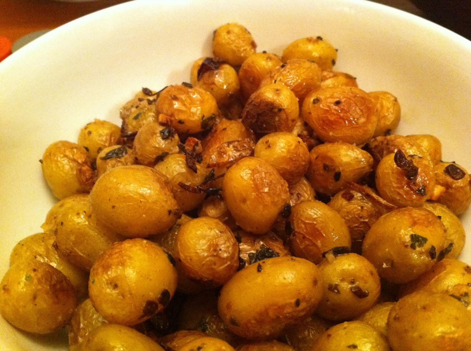 Tender little earthy nuggets of potatoey goodness.