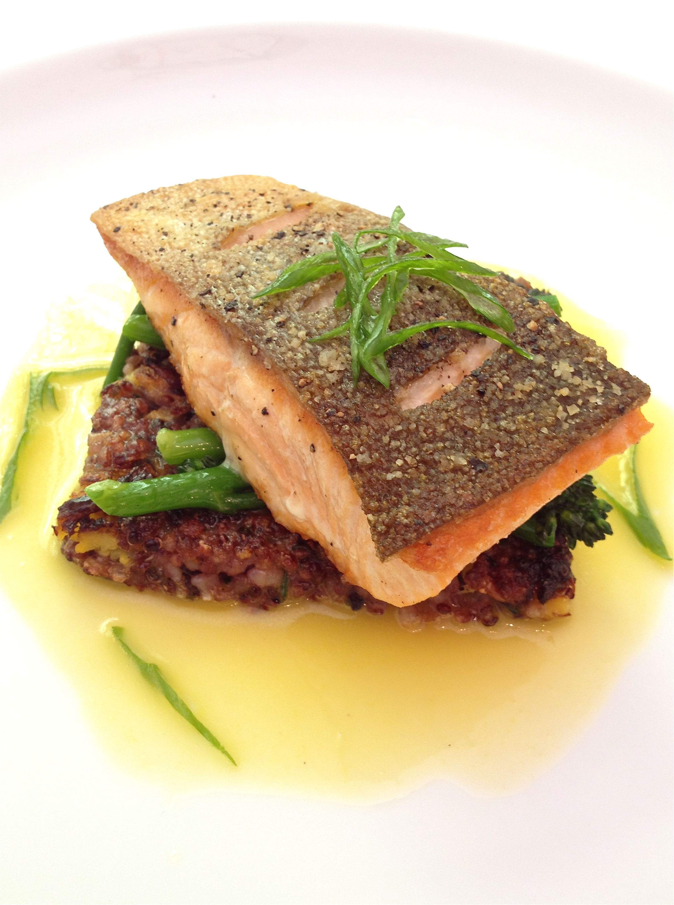 Delish Fish Dish Pan Roasted Arctic Char Omnivorous
