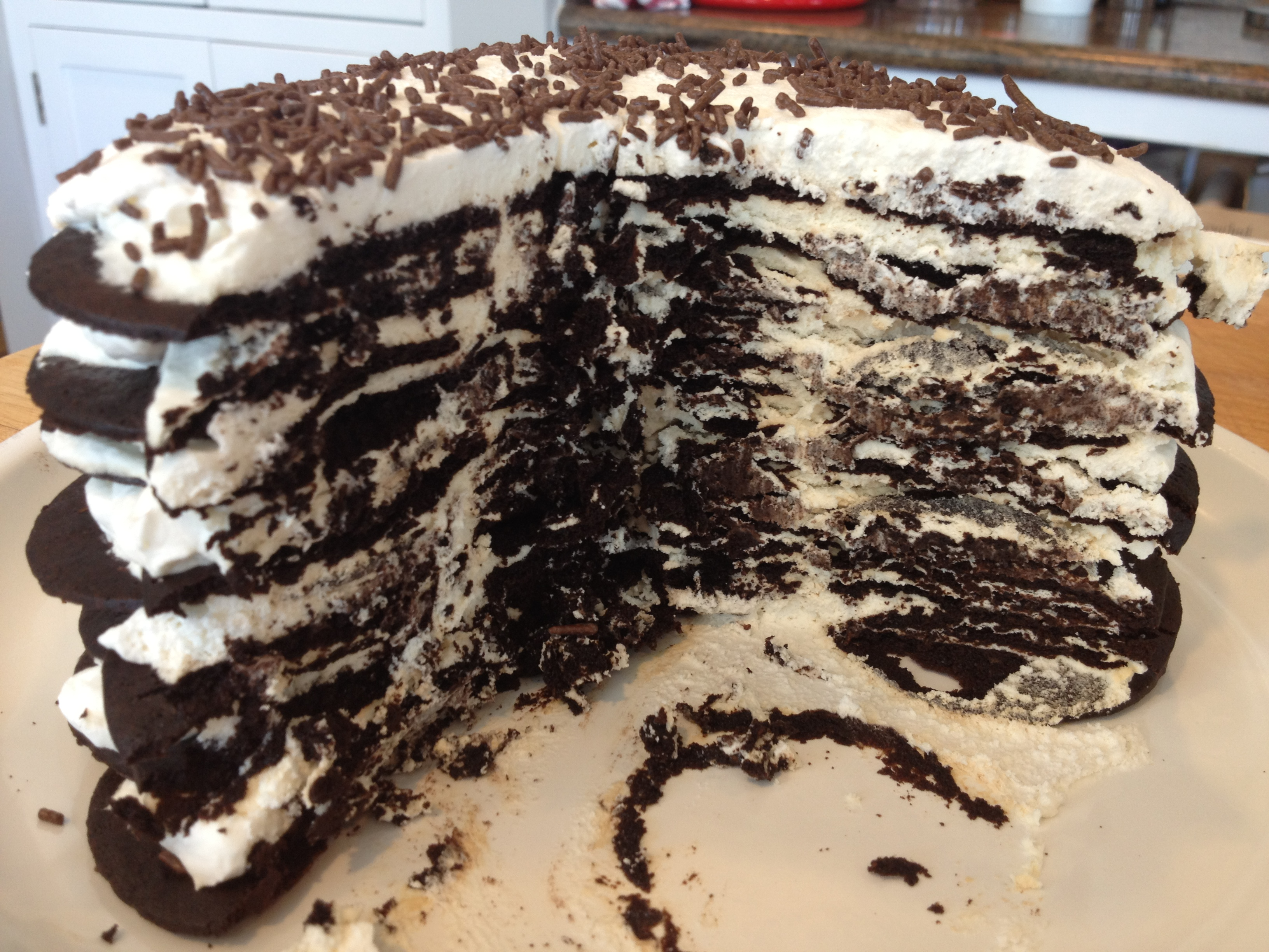 Icebox Cake Recipe — Dishmaps